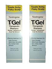 Neutrogena T/Gel Therapeutic Shampoo Tgel T Gel 250ml x 2 bottles New