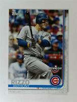 2019 Topps Opening Day Base #86 Anthony Rizzo - Chicago Cubs
