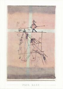 Plakat - Paul Klee - Der Seiltänzer / Nr. 110