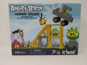 Angry Birds K'nex Hammin Around Building Set PlaySet NEW SEALED Rare