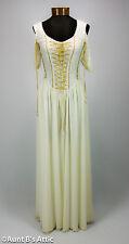 Renaissance Maiden Dress Ecru Chiffon & Lace Bridal Style Legends By JoJo Bejano