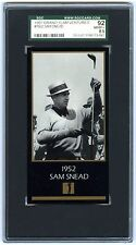 SAM SNEAD~1997 GRAND SLAM VENTURE 1952 MASTERS COLLECTION SGC-92 NMMT+ GOLF CARD