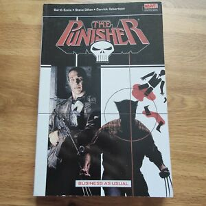 The Punisher Business As Usual TPB Marvel Graphic Novel comic Ennis Dillon 2005