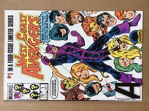 West Coast Avengers 1 VF 1984 Marvel