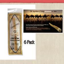 6 Pack miswaak Miswak Meswak (Sewak, arak, Siwak, Naturale Spazzolino da denti) al Salah