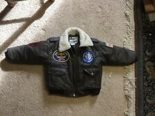 Kid's Air Force Squadron Bomber Jacket Size 5T