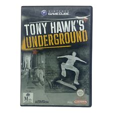 Tony Hawk's Underground for Nintendo Gamecube - w Manual - Tested & Working