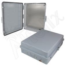 Altelix 17x14x6 Polycarbonate + ABS Weatherproof NEMA Box with Aluminum Plate
