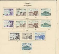 KOREA STRONG INTERESTING OLD COLLECTION ON ALBUM PAGES - T994