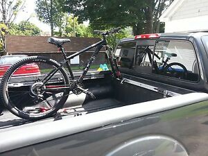 Bike Mount for Toyota Tacoma & Tundra -  Road Bicycle Rack to Bed Rail Lockable