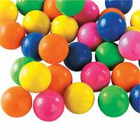 Neon Mini Bouncy Ball Assortment - Toys - 144 Pieces