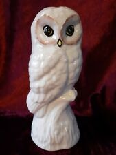Donegal by Belleek Parian Ware Owl Figurine