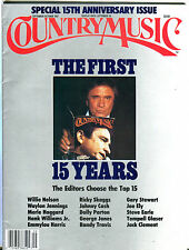 Country Music Magazine September/October 1987 15th Anniversary EX 081816jhe