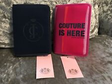 New With Tag Genuine Juicy Couture Designer x2 Passport Cover Holder