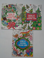 3 - Grown Up Christmas Coloring Books