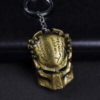 Aliens vs Predator The Predator Mask Alloy Key Chains Keychain Keyring Bag Deco