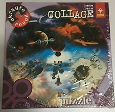 Trefl Round Collage Puzzle Kosmos Cosmos Space Planets Astronaut 723 Pcs Sealed