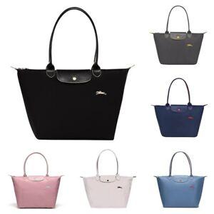 LONGCHAMP LE PLIAGE CLUB Women Shoulder Bag S/L Long Handles Foldable Tote Bags