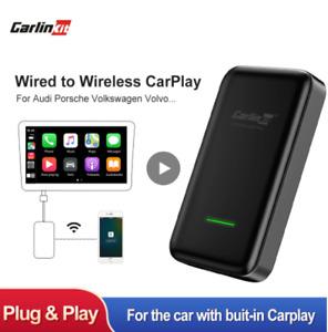 CarlinKit 2.0 Wireless Apple Carplay Dongle Adapter For Peugeot Hyundai Suzuki N