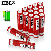 EBL 3.7V 350mAh 10440 Li-ion Rechargeable Batteries For LED Flashlight Torch Toy