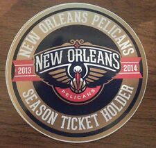 NEW ORLEANS PELICANS 2013-2014 SEASON TICKET HOLDER STICKER STH ANTHONY DAVIS