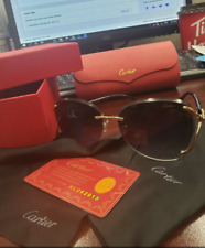 cartier SunglasseS Classic Pilot  Designer Brand fashion Mens Womens Sun Glasses