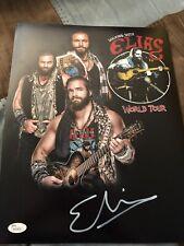 ELIAS SIGNED WWE 11x14 PHOTO RARE JSA