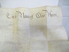 1819 Probate 1808 Last Will & Testament of John Fitzgerald, Dublin Ireland
