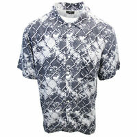 OBEY Men's Behind The Fence Print S/S Woven Shirt (Retail $59.99) S16