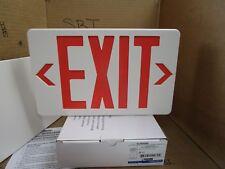 Thomas & Betts Self-Powered Model Red LED Plastic Exit Sign QLXN500RN 120/277 VA