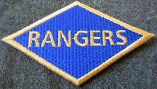 WWII US ARMY RANGERS DIAMOND DIVISION SLEEVE INSIGNIA PATCH