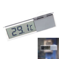 LCD Digital Temperature Meter Indoor Home Outdoor Suction Cup Car Thermometer