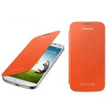 Samsung Galaxy S4 Flip Cover Case - orange