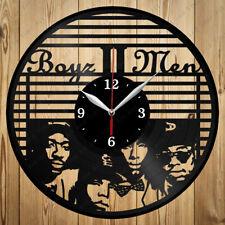 Vinyl Clock Boyz II Men Handmade Original Gift Vinyl Wall Clock Art Home 4277