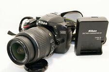 Nikon D3200 24.2MP Digital SLR Camera - Black (Kit w/ AF-S DX ED VR G 18-55mm)