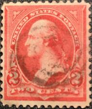 Scott #267 US 1895 2 Cent Washington Bureau Postage Stamp XF LH