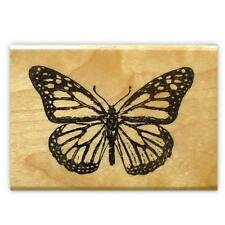 Monarch Butterfly mounted rubber stamp, summer bug, insect #9