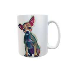 Chihuahua Dog Mug CHIWAWA Novelty Personalised White ceramic 11oz Custom Gift