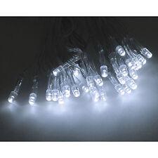 10er/20 LED Lichterkette kaltweiß Innen batteriebetrieben Weihnachten Party Deko