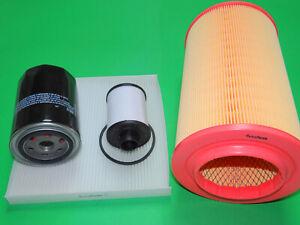 Ölfilter Dieselfilter Luftfilter Pollenfilter Peugeot Boxer 3, 3.0 HDi 107/115kW