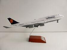 Lufthansa boeing 747-400 1/200 Herpa 557429 747 D-abvp bremen modelo de metal!