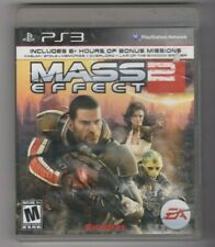MASS EFFECT 2 PS3 MATURE 17+ BOOKLET INCLUDED