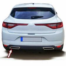 Escape de acero inoxidable marco muñecos cromo para Renault Megane 4 vi | a part...