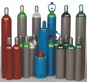 Gasfüllung Argon 4.6 in 5 10 20 50 Liter wählbar