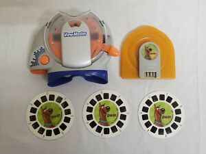 View-Master 2004 Mattel Fisher-Price  Gray Talking Super Sounds 3D Scooby-Doo