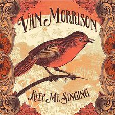 VAN MORRISON KEEP ME SINGING CD ALBUM (2016)