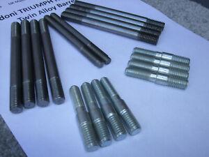 z  GILARDONI TRIUMPH Nicasil 750 alloy barrel 18 BARREL STUDS Set €FF JLY21 GTN3
