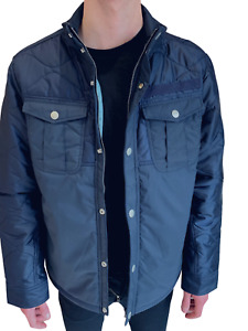 G Star Raw Mens Filch Jacket RRP £180 Navy XXL ONLY Small Fit Coat