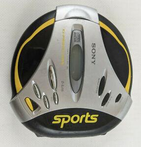 Vintage Sony D-SJ15 Discman Portable Sports CD Walkman Player - Tested, Working