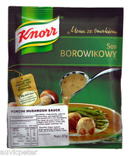 Knorr Porcini Mushroom Sauce 37g, SOS BOROWIKOWY